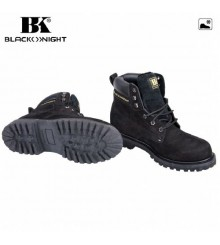 BLACK KNIGHT HONEY ANKLE WINTER - NEGRU